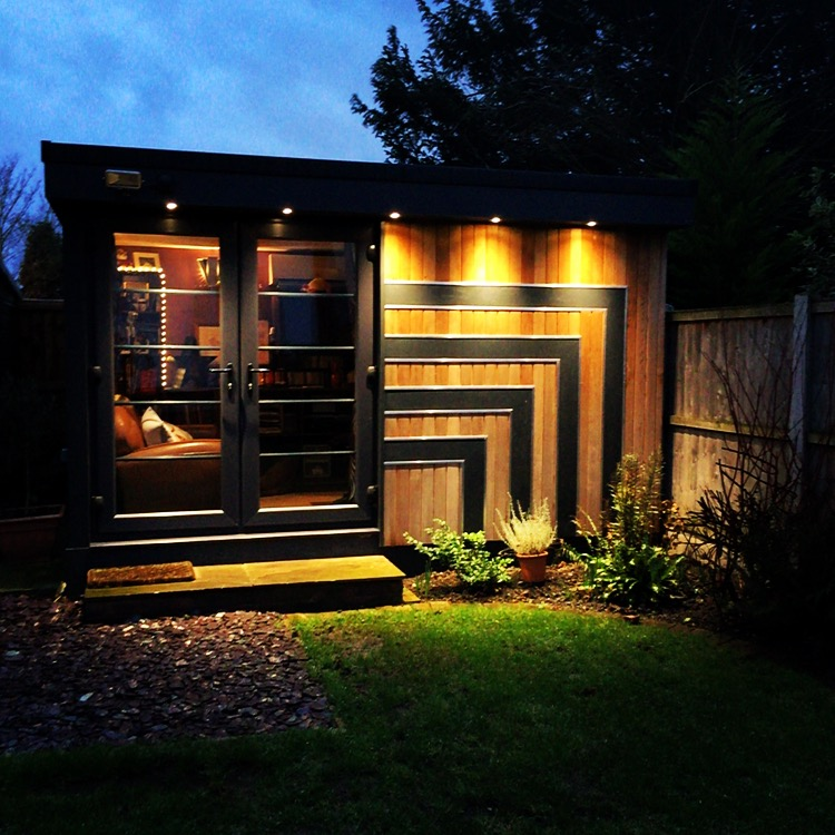 Garden home studio for voiceover recording in Chelmsford, Essex.
