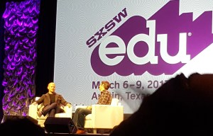 Tim Ferriss speaking about his learning experience at SXSWedu