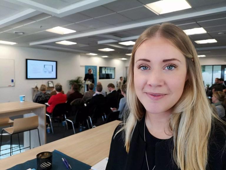 Enterprise Sales Leader Mikaela Hedenros Ringart fra LinkedIn hos HR-ON i Odense.