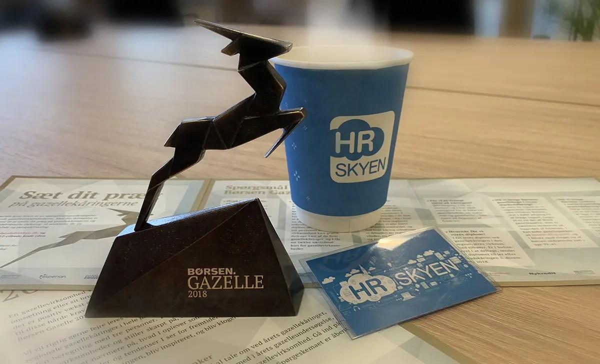 The Gazelle price 2018 won by HR-ON