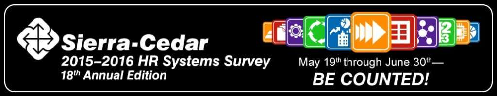 Sierra-Cedar HR Systems Survey