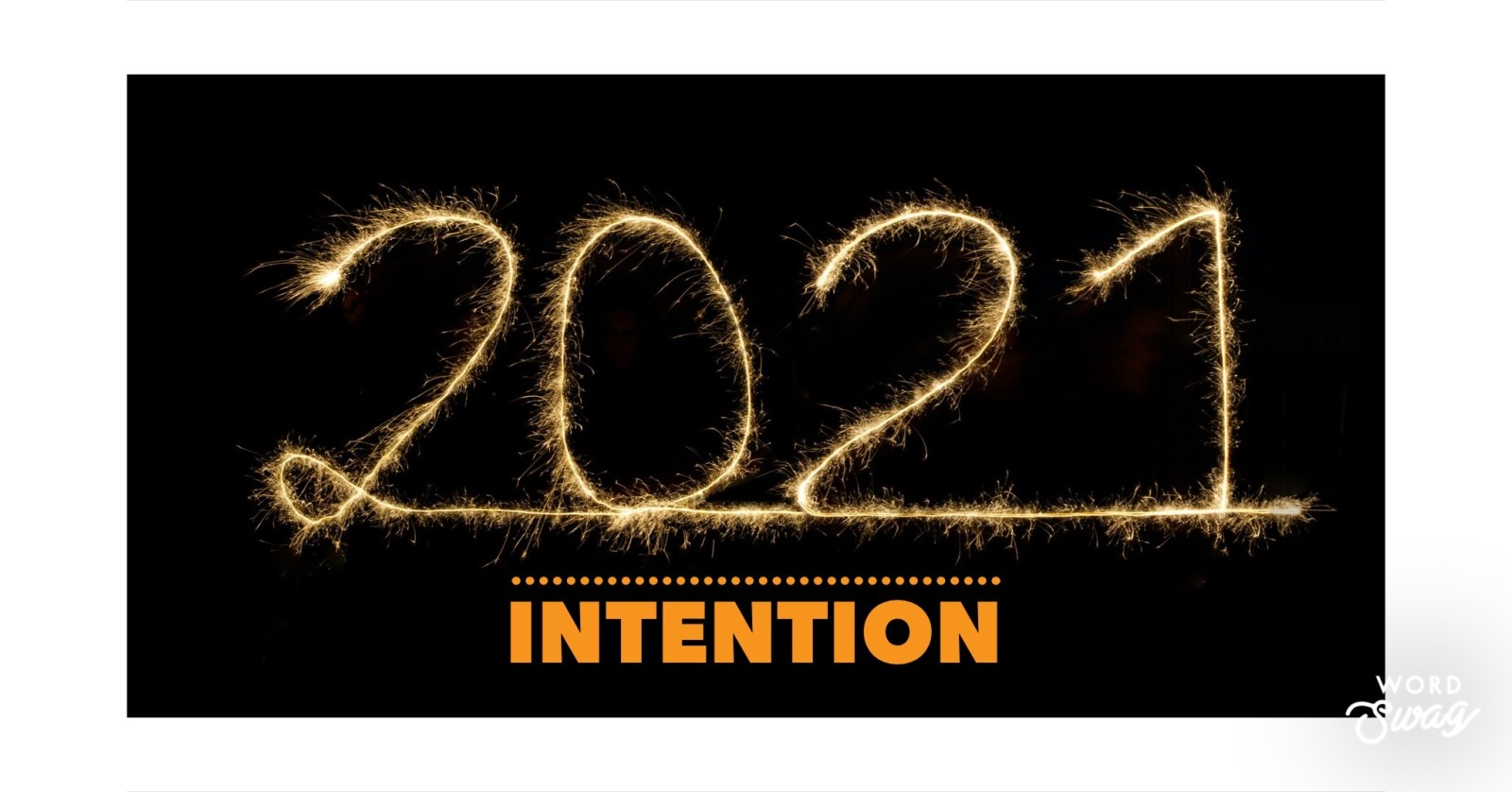 2021 Intention