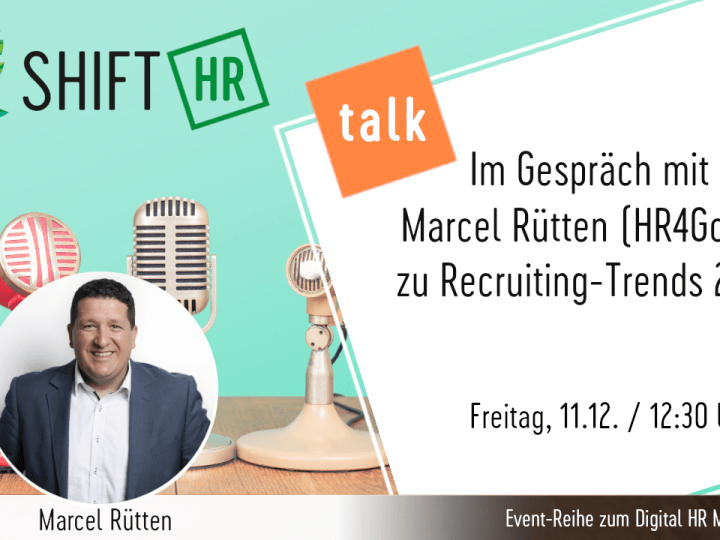 #HRTalk zu Recruiting-Trends 2021