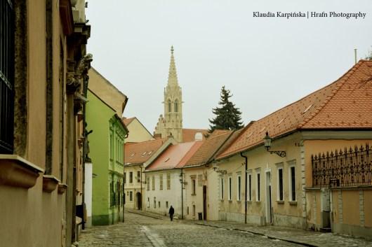 The Old Street in Bratislava