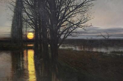 'Moonrise' by Stanisław Masłowski