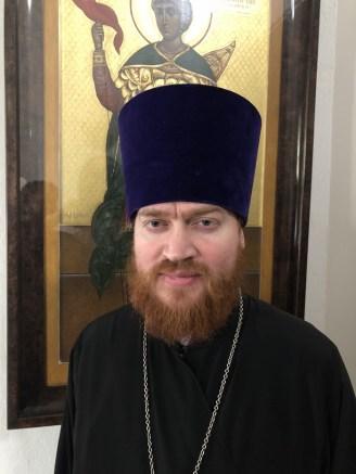 Священник Александр Дружинин