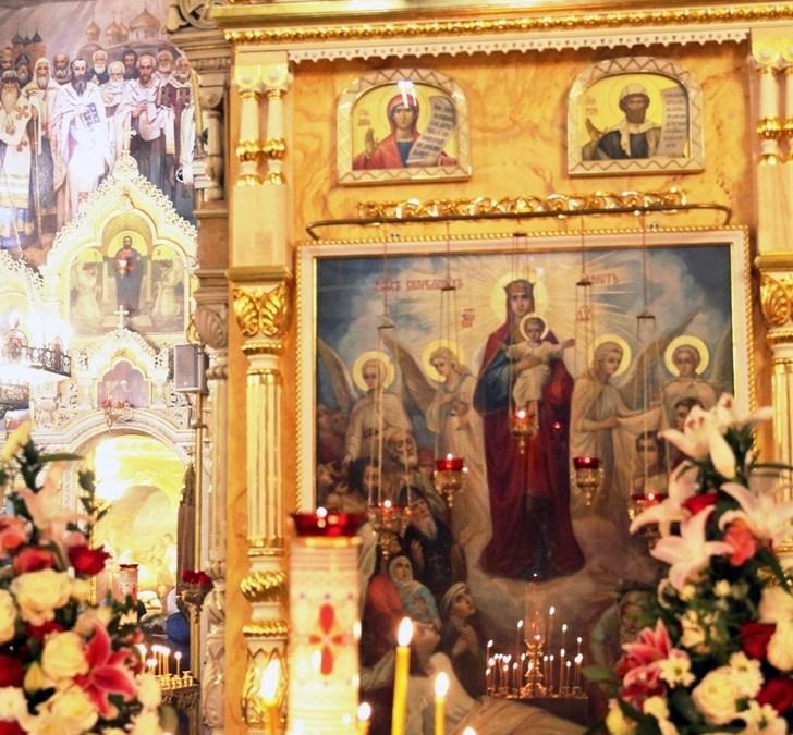 Престольный праздник в нашем храме