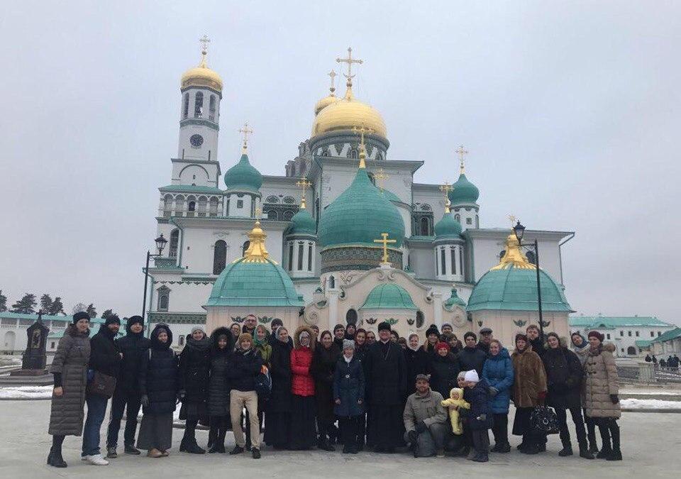 Молодежь храма совершила паломническую поездку в Новый Иерусалим
