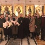 «Лествичники» в Новогоднюю ночь посетили Сретенский монастырь