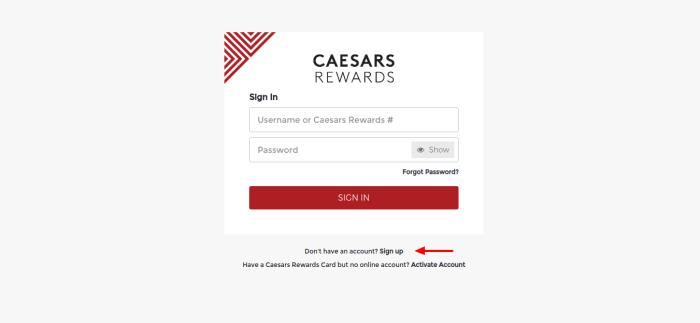 Caesars-Rewards-Sign-up