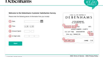 Debenhams-survey