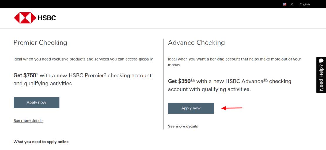 HSBC-account-apply