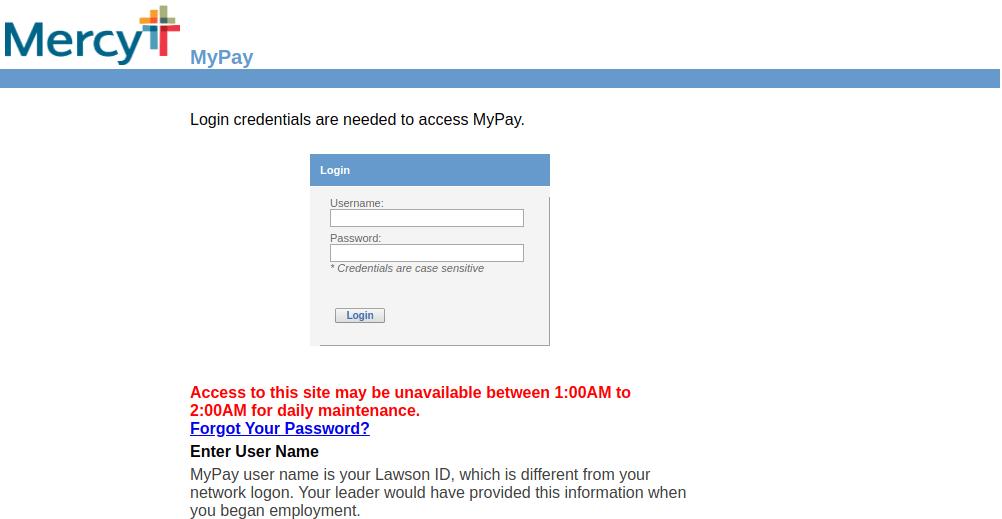 MyPay Mercy Logo