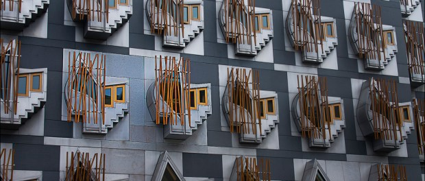 Scottish Parliament MSP office windows