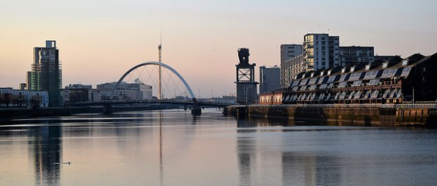 Picture of scene of Glasgow Clyde