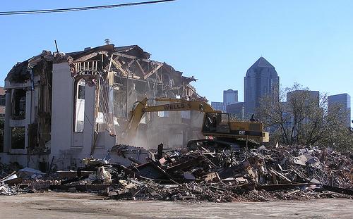 HRC Dallas demolished