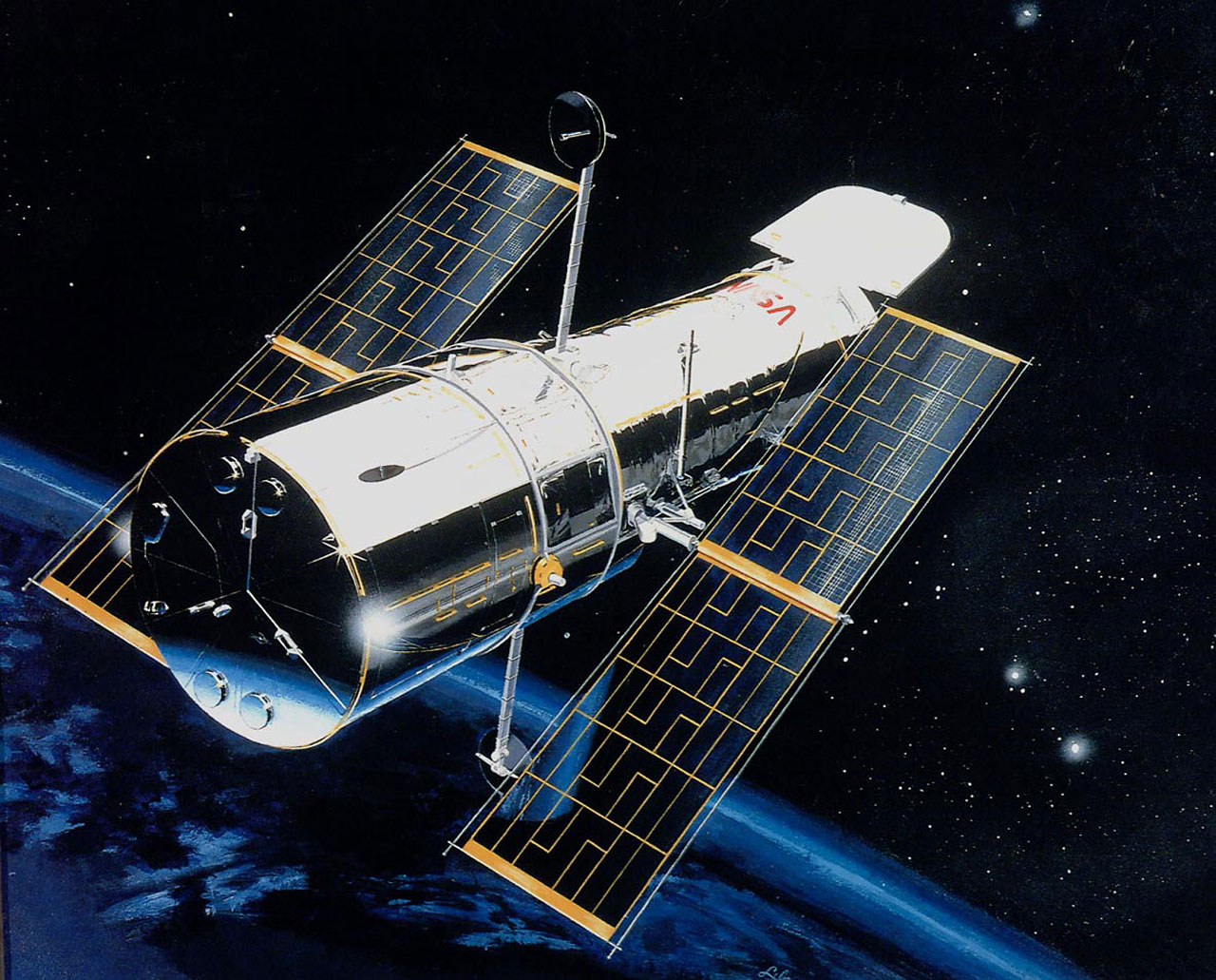 Hubble Telescope Launched 24 Years Ago In April