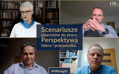 HRInsight odc. 3 (wideo): Scenariusze powrotów do pracy – perspektywa lidera i pracownika
