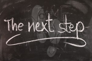 Ein Ziel Schritt für Schritt planen und erreichen