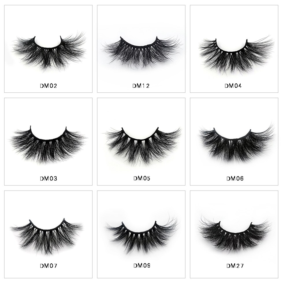 3d Mink Strip Lashes Wholesale
