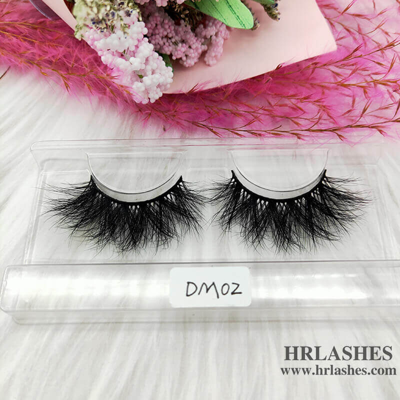 20mm 3D Mink Strip Lashes Vendors