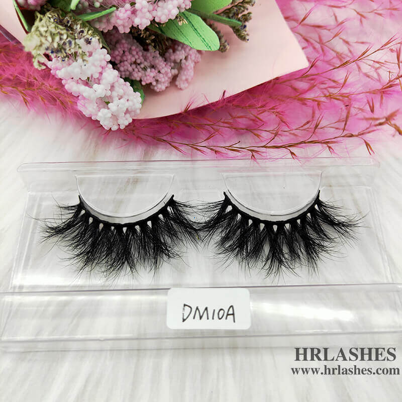 20mm 3D mink eyelash strips