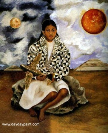 Frida-Kahlo-Portrait-of-Lucha-Maria-A-Girl-from-Tehuacan