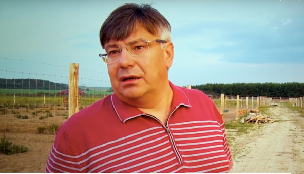 Роман Микитюк. Скріншот з відео «12 каналу»