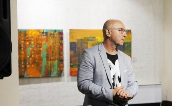 У Музеї сучасного українського мистецтва Корсаків – новий мистецький проєкт Андрія Блудова «Соціополіс»