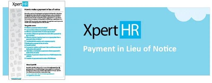 XpertHR-Whitepaper-payment-in-lieu