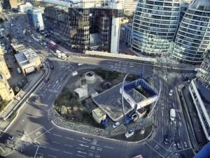 tech city, old street roundabout, London