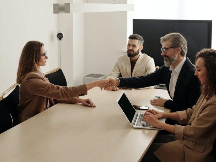 Home Buyer shaking hands