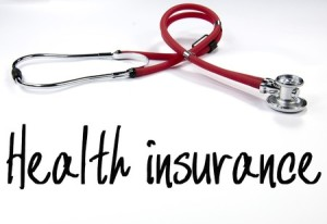 41044361 - health insurance text and stethoscope
