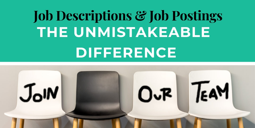 Difference between Job Descriptions and Job Postings