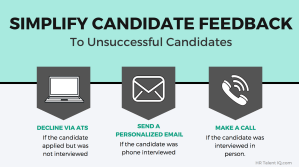 How to give candidate feedback and be a better recruiter