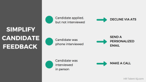 How to give candidate feedback