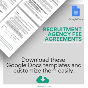 Downloadable recruitment contract agreement
