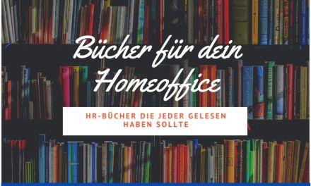 3 HR-Bücher für dein Homeoffice