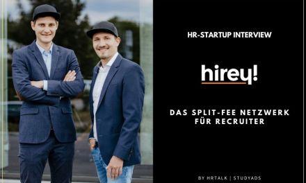 hirey! Das Netzwerk für Recruiter