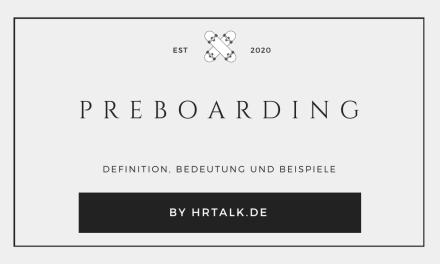 Preboarding Definition