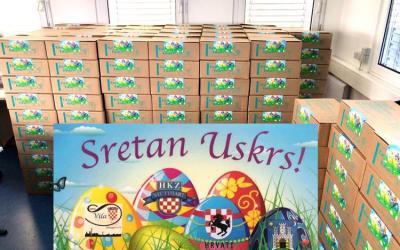 Uskrsni paketići za mališane u Glini i Sisku