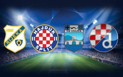 Dinamo, Osijek, Hajduk i Rijeka saznali potencijalne protivnike u trećem pretkolu eurokvalifikacija