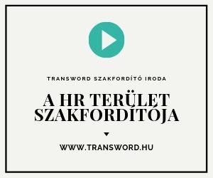 HR terület szakfordítója - Hiteles Fordítás Gyorsan - Expressz Fordítás