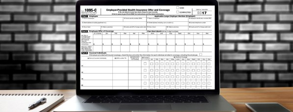 IRS form 1095-C for 2017