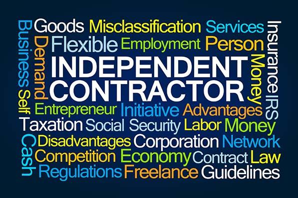 AB 5 independent contractors