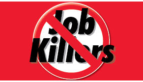 four employment related job killer bills