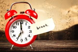 on-call rest break california employers