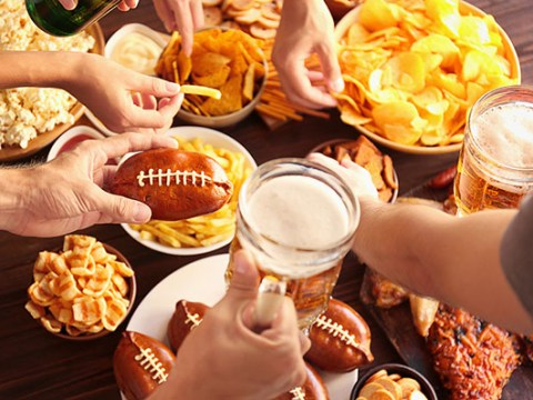 Super Bowl Fever Sweeps Through Offices on Monday February 3
