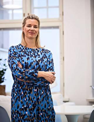 Johanna Hamro-Drotz took over the reins of Sinituotte in 2018.