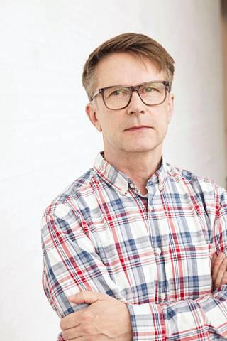 Visual artist Juha van Ingen.